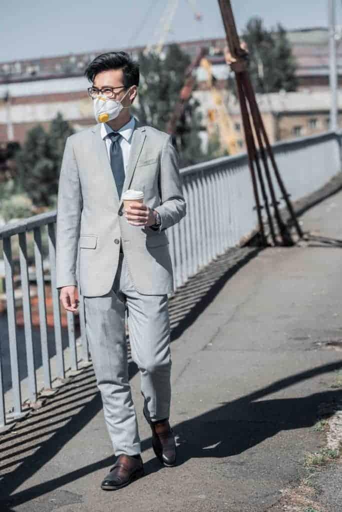 FFP3 Maske im Alltag