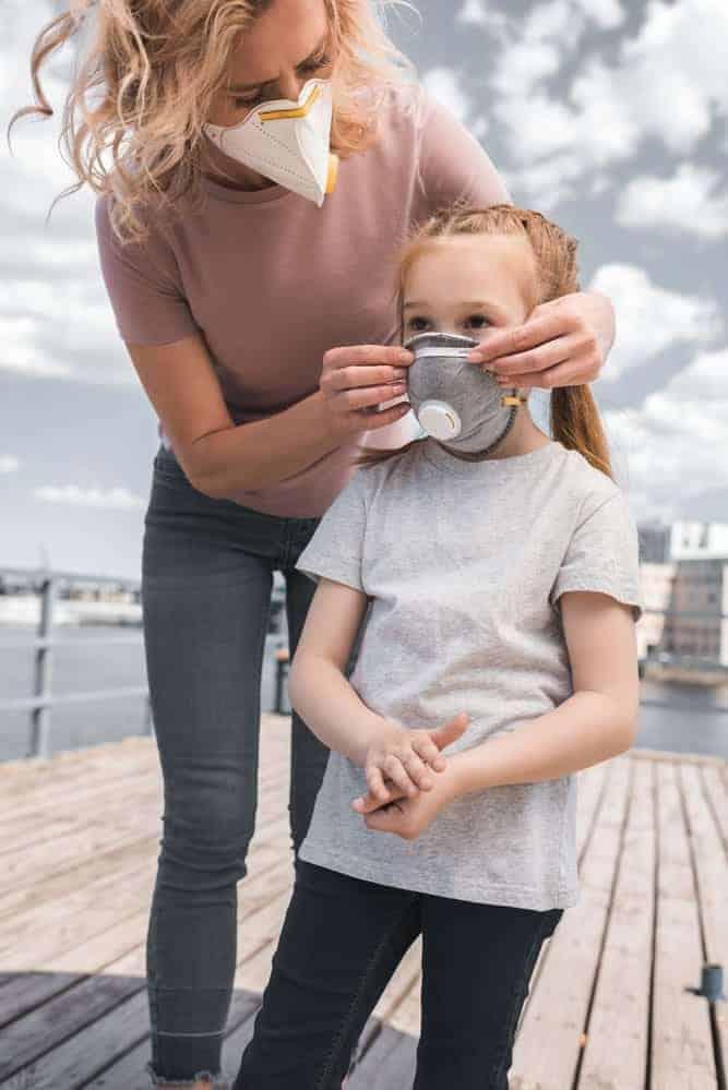 FFP2 Maske für Kinder