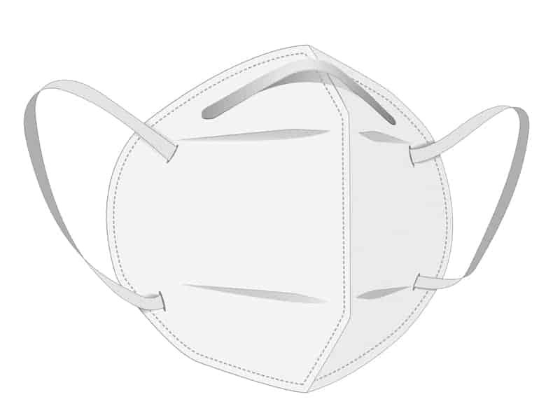 FFP2 Maske ohne Ventil - Infografik