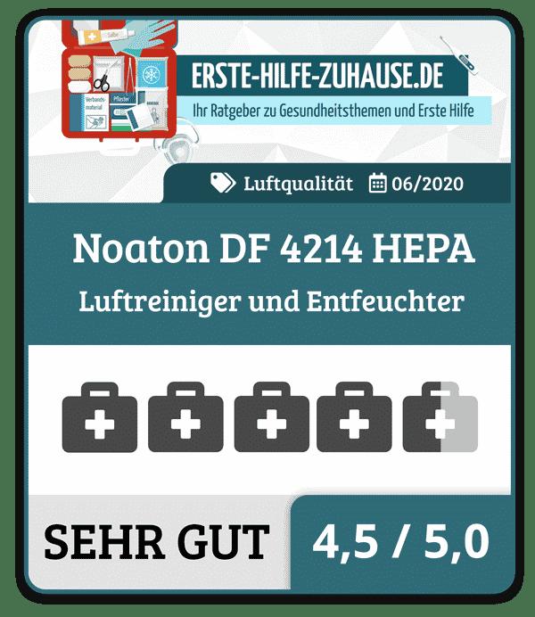 Noaton-DF-4214-HEPA Test