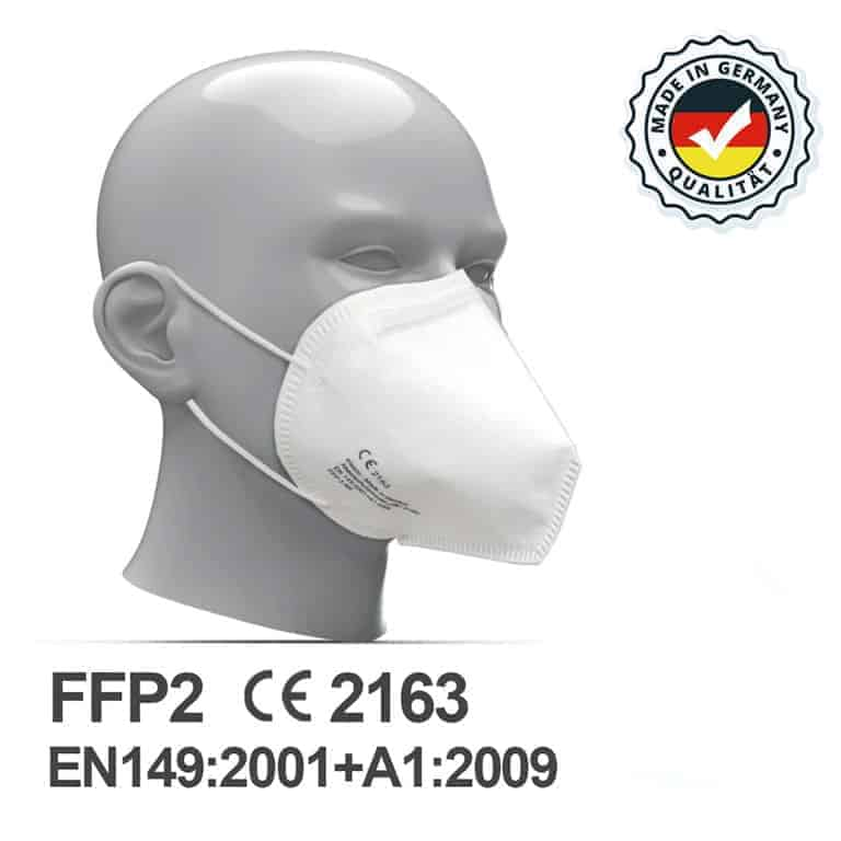FFP2 Maske - Made in Germany - Erste Hilfe Zuhause