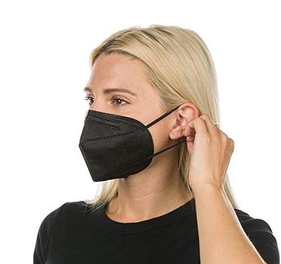 FFP2 Maske schwarz