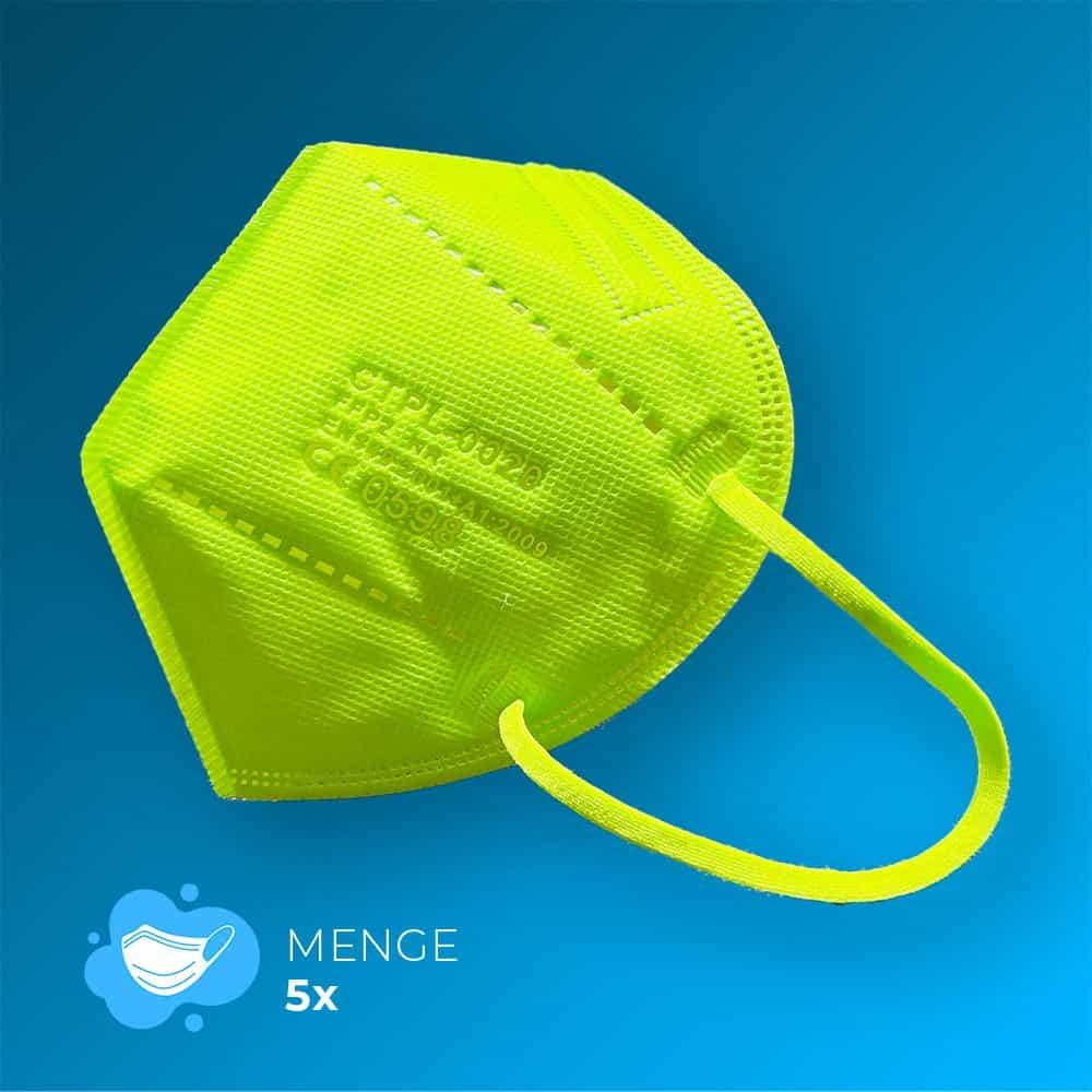 grüne FFP2-Maske