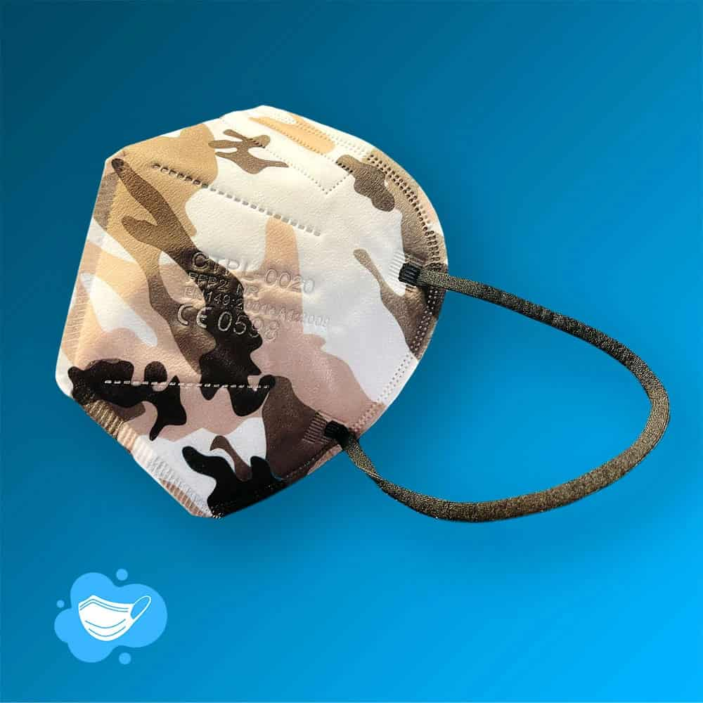 Camouflage FFP2 Maske