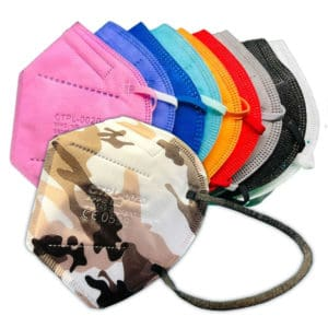 Farbige und bunte FFP2 Masken kaufen